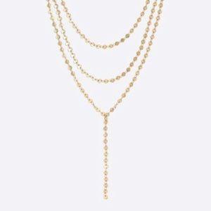 J. Crew Golden Sun Layered necklace